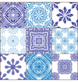 Tiles Floor Ornament Collection vector image vector image