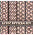 305retro pattern setVS vector image