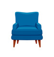 armchair colorful cartoon vector image vector image