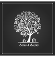 Bakery tree concept for your design vector image vector image