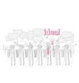 Business people communication teamwork idea