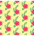 Floral seamless pattern Flowers background vector image vector image