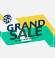 Grand sale banner design for your business