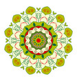 mandala design vintage decorative elements vector image vector image