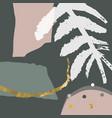 modern abstract artistic spot organic shape art vector image