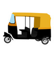 tuk-tuk indian auto rickshaw concept delhi auto vector image vector image