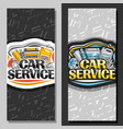 banners for car service vector image vector image