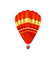 hot air balloon concept flat vector image vector image