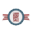 Labor Day Sale Banner Template vector image vector image