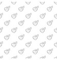 love potion pattern seamless vector image vector image