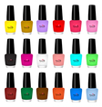 nail varnish vector image vector image