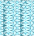 Oriental mosaic seamless pattern vector image