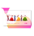 rio carnival musicians and girls dancers band vector image vector image