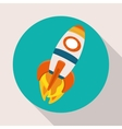 Rocket or Spaceship design vector image
