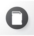 sd card icon symbol premium quality isolated vector image vector image