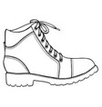 Shoe sketch icon