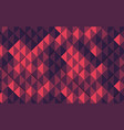 violet and pink abstract geometric background vector image
