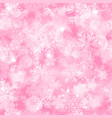 christmas seamless pattern blurred snowflakes vector image vector image