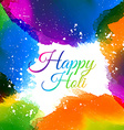 indian holi festival colors vector image vector image