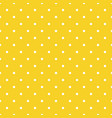 orange seamless pattern background polka vector image