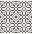 seamless kilim swatch design in brown and cream vector image