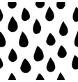seamless pattern hand drawing drops elements in vector image vector image