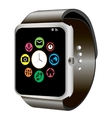 Smart watch and wifi vector image vector image