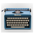 typewriter xxl icon vector image vector image