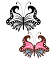 Abstract image openwork butterfly vector image vector image