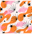 abstract seamless multicolor pattern for fabrics vector image vector image