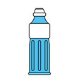 big water bottle vector image vector image