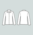blouse vector image vector image