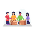 clothing donation vector image