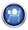 Icon of Concrete mixer vector image