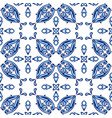 italian tile pattern ethnic folk ornament vector image vector image