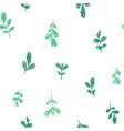 leaf pattern vector image vector image