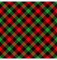 tartan seamless pattern background red black vector image vector image