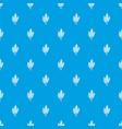 wheat pattern seamless blue vector image vector image