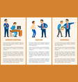 worker control bad job and dismissal boss leader vector image vector image