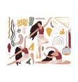 abstract ballet dancer girl vector image