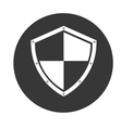 shield object icon vector image