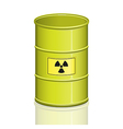 Toxic barrel vector image