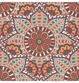 Seamless colorful pattern in Indian motif Zenart vector image