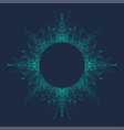 artificial intelligence logo vector image vector image