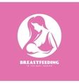Breastfeeding is the best feedign minimalistic vector image