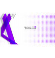 bright abstract background template purple with vector image