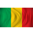 Flag of Mali vector image vector image