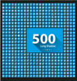 Set of 500 icons long shadow vector image vector image