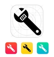 Spanner icon vector image