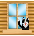 Window in house vector image vector image